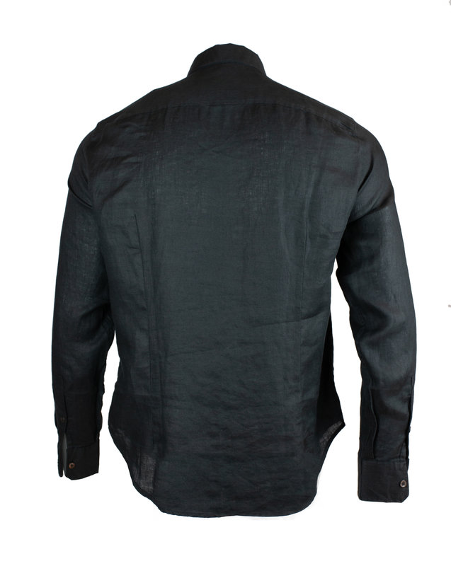 Emporio Armani 3H1CP5 1NJJZ Linen Shirt (1118)