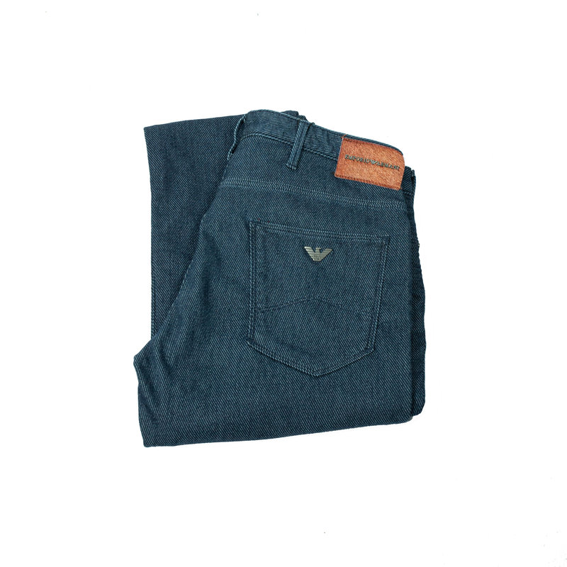 Emporio Armani 6G1J06 1D6HZ Denim Trousers (981)