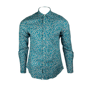 Replay M4953P L/S Floral Shirt (1024)