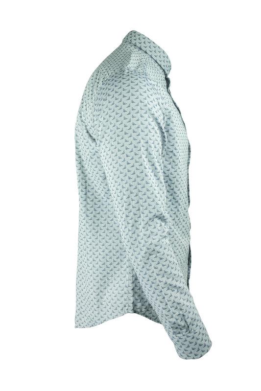 Emporio Armani 3H1C61 1N8AZ Mens Denim Shirt (1178)