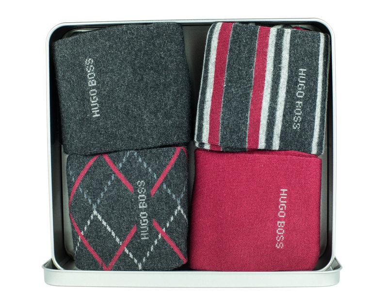 Boss Black 50442845 Mens 4P Socks (1350)