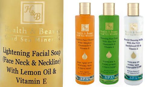 Lavado facial suave para uso diario.