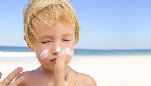 Cuidado facial para niños de 4 a 12 años