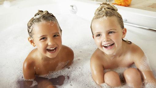 Champús y acondicionadores aptos para niños de 4 a 12 años