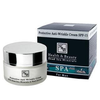 Crema facial antiarrugas para hombres