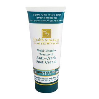 Crema de pies anti-agrietados 100 ml