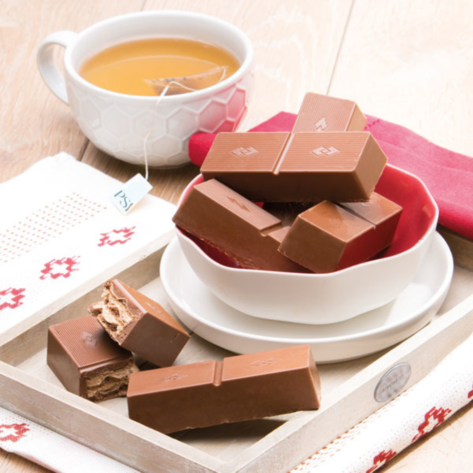 Powerslim PS07100 Melk chocolade chunk