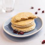 Powerslim Cranberry witte chocolade koek
