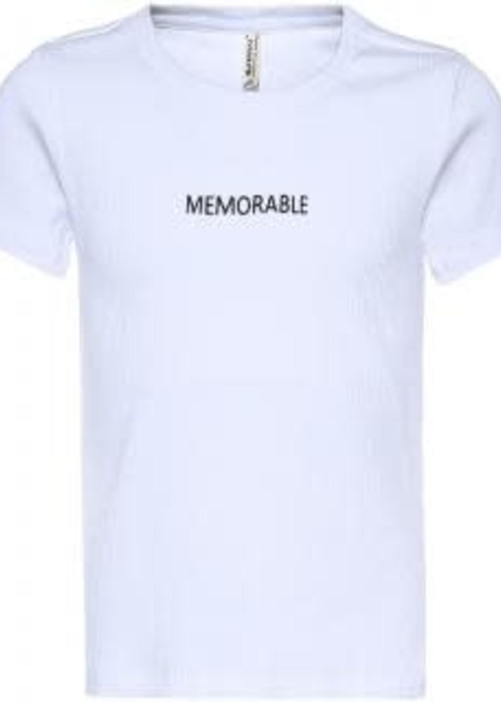 Blue Effect Girl T-shirt memorable wit
