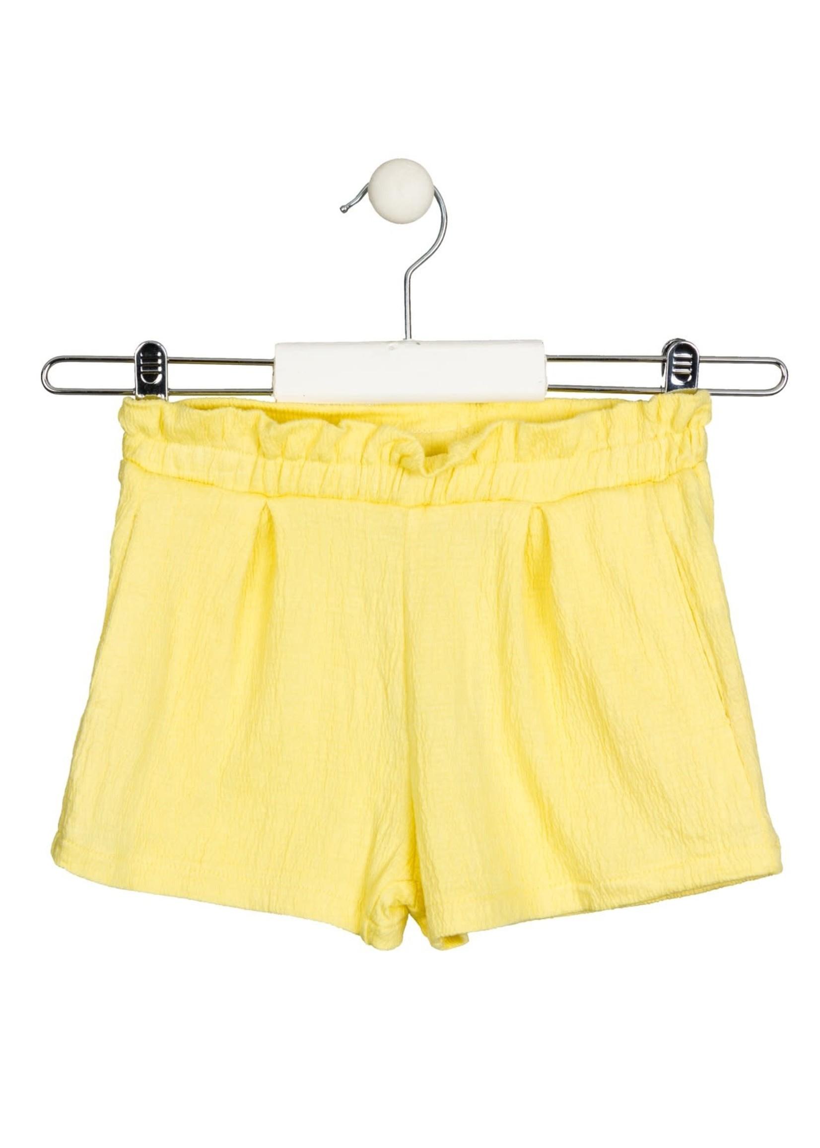 Losan Shortje geel