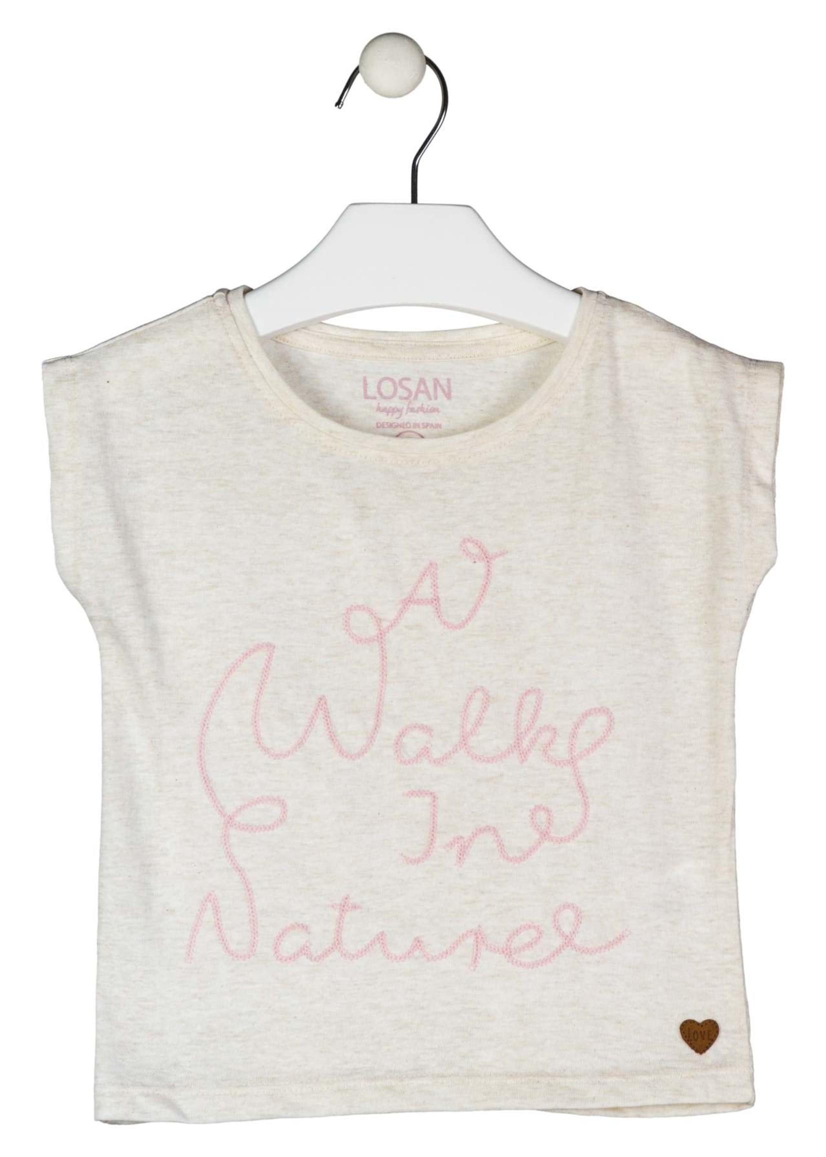 Losan T-shirt walk nature