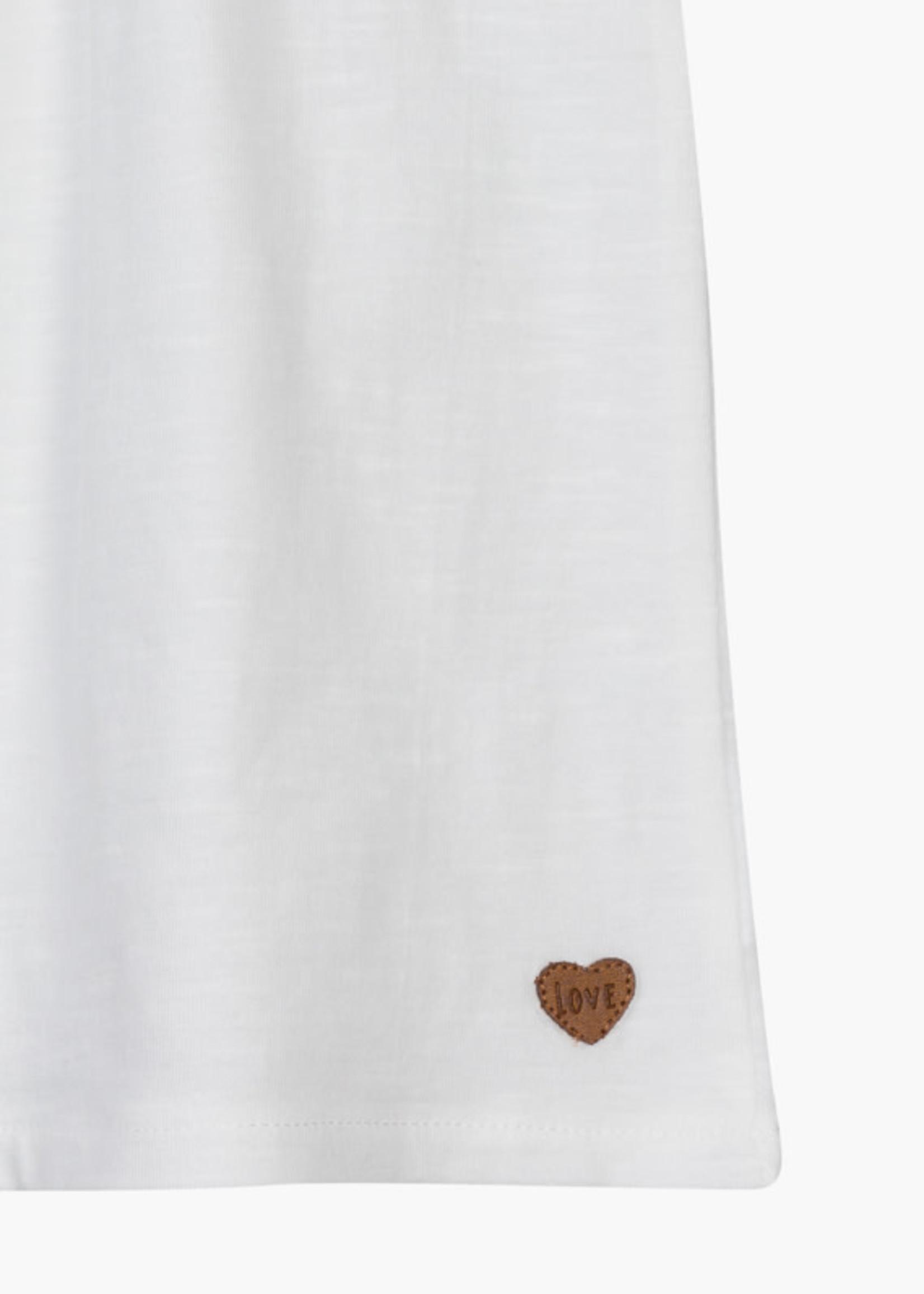 Losan Wit t-shirtlosan