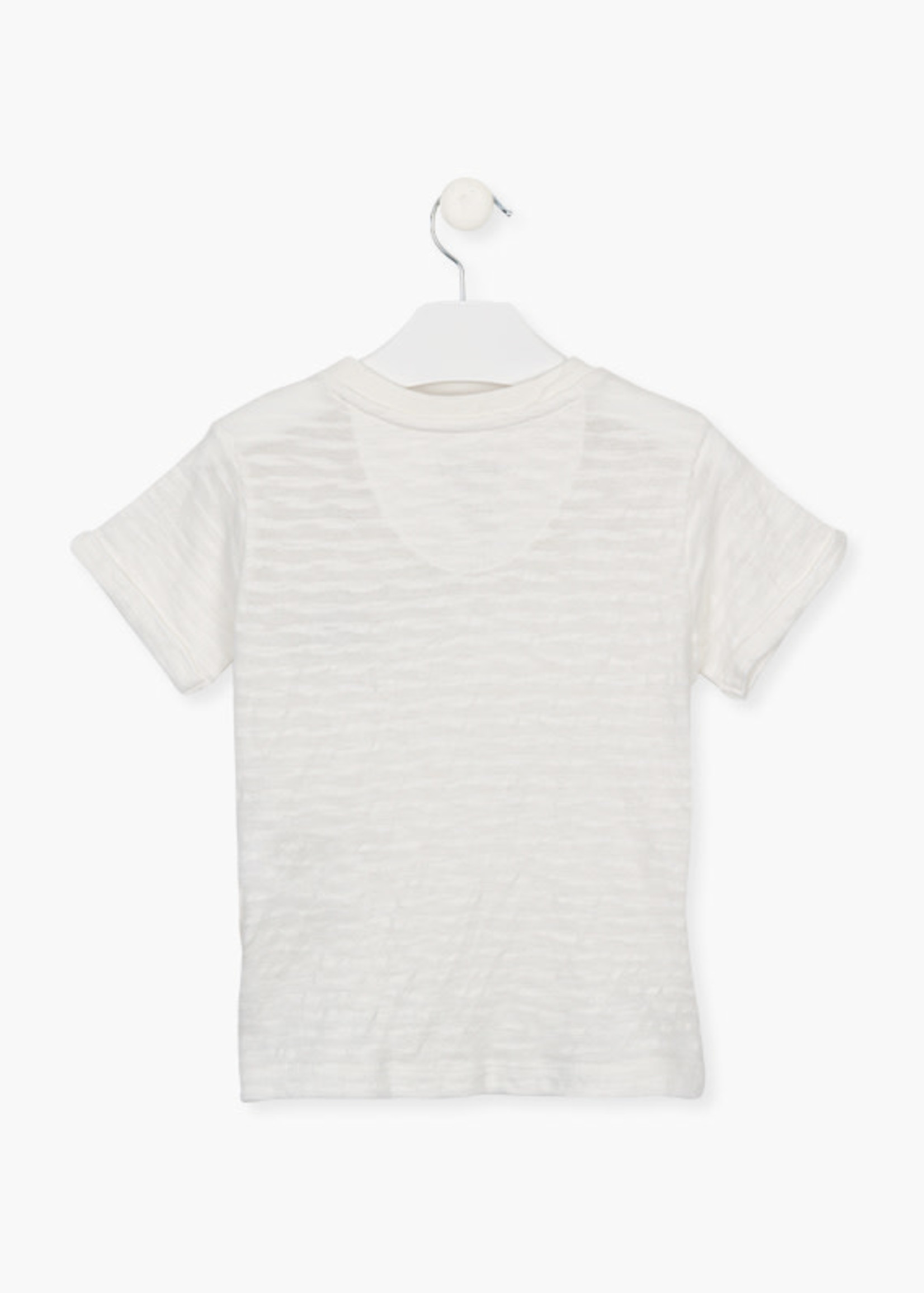 Losan Wit t-shirt jongens losan