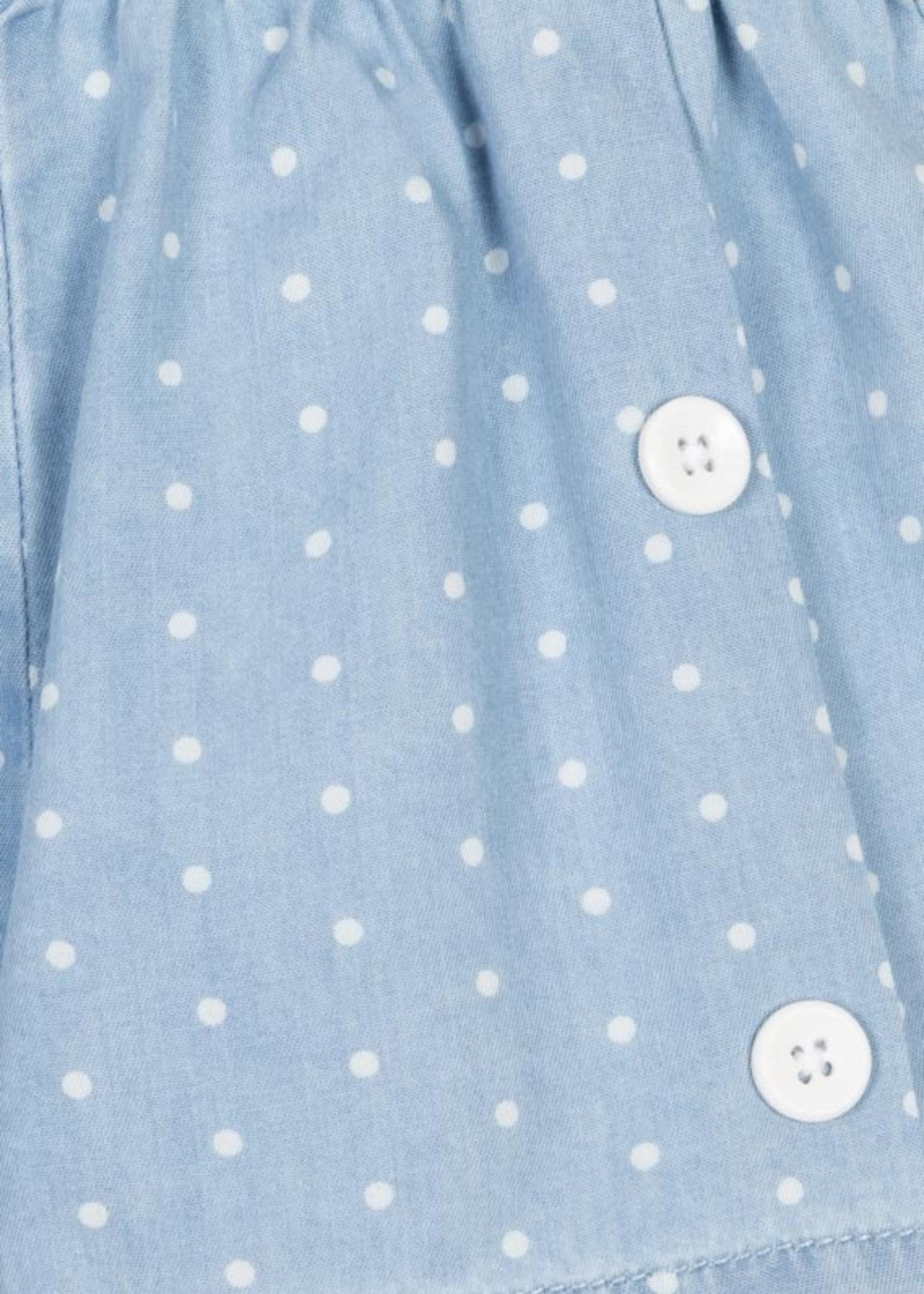 Losan Short Lichtblauw bolletjes