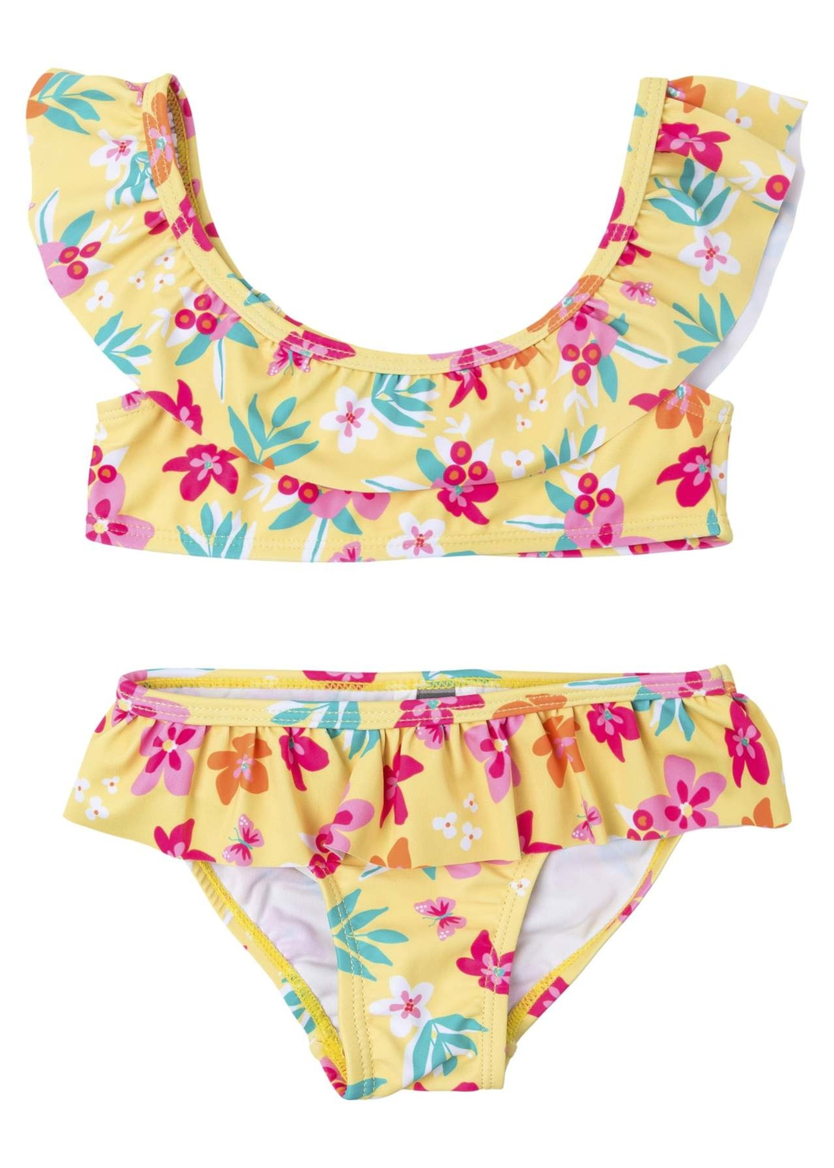 Losan Bikini Bloemen geel
