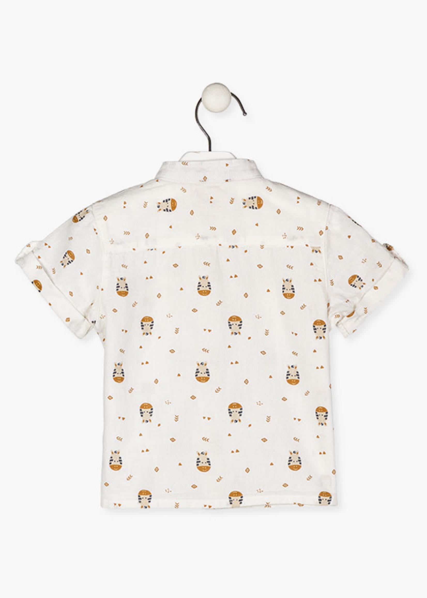 Losan Losan Zebra hemd