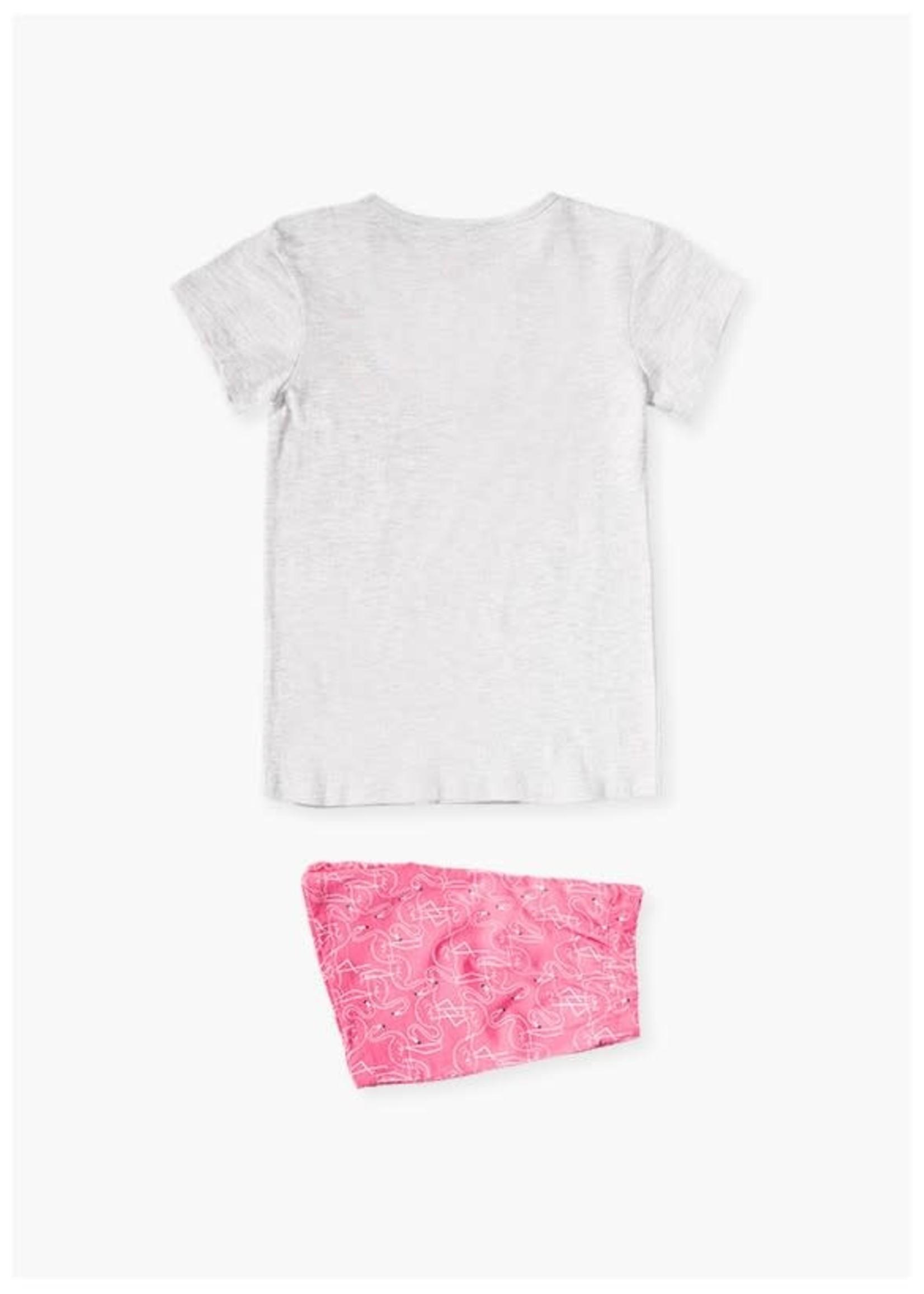 Losan Losan Pyjama roze,blauw