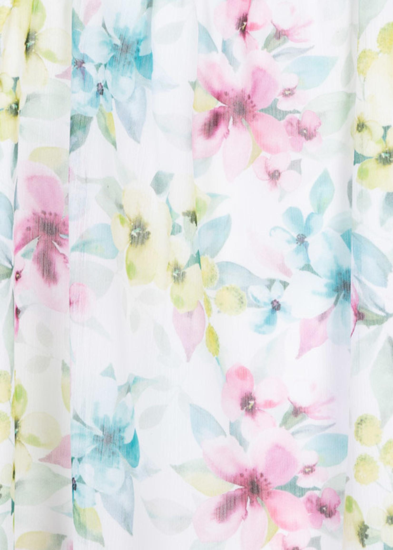 Losan Losan sleeveless bloemen jurk