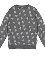 vinrose Vinrose Sweater leopard patern