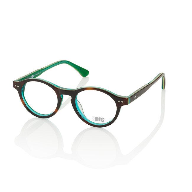 BBIG 220 - Havana/Lime/Oceangreen-423