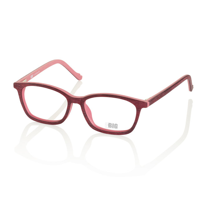 BBIG 222 - Bordeaux/old PinkWood Look-426