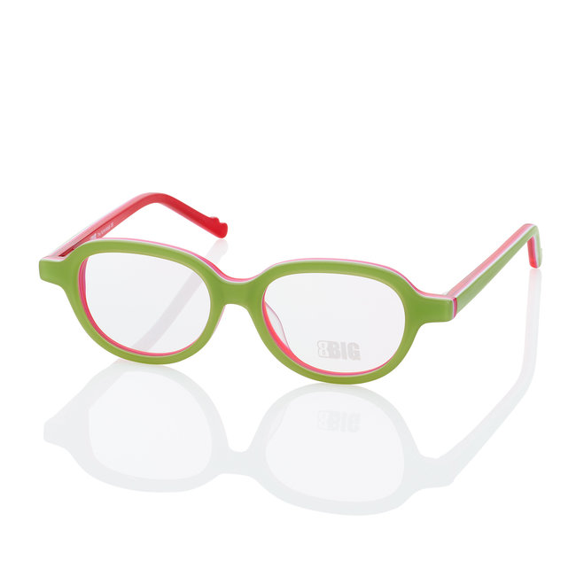 BBIG 229 - Green/White/Pink/Red Matt-415