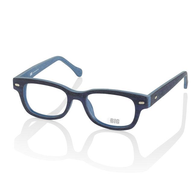 BBIG 3202 - darkBlue/ jeansBlue Wood Look-427