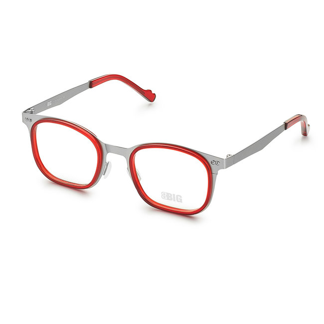 BBIG 608-Stainless steel base - Deep Red-H03