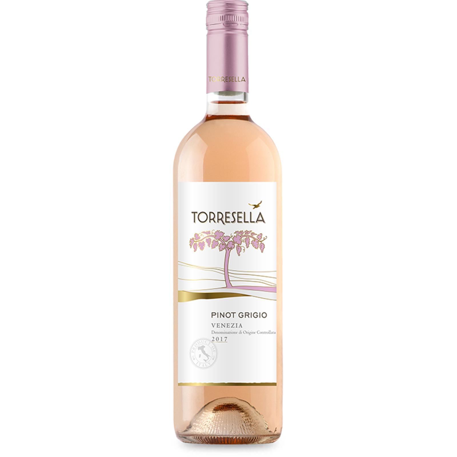 Cantine Torresella Torresella Pinot Grigio Venezia Rosé Blush 2020
