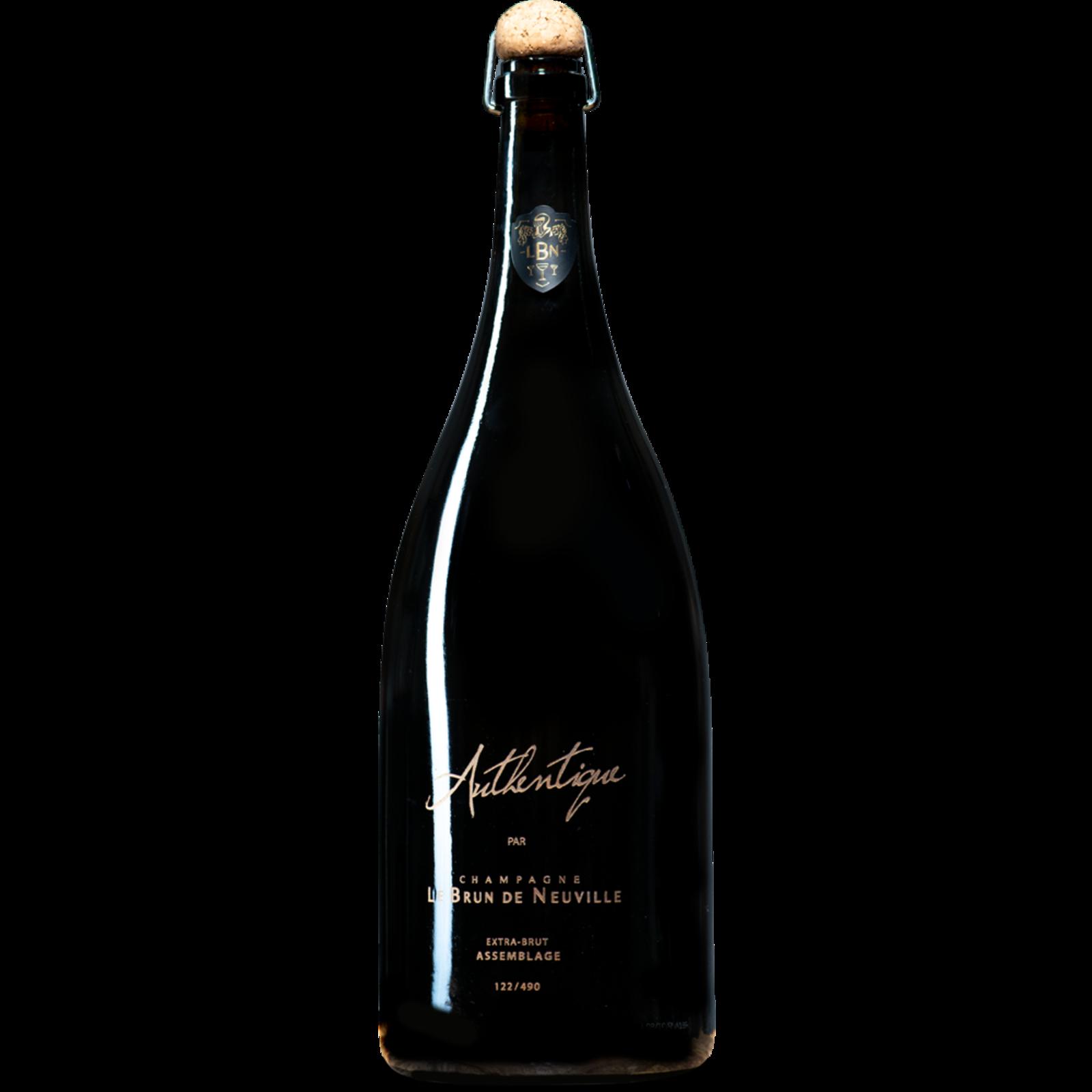 Le Brun de Neuville Le Brun de Neuville Champagne Assemblage Brut Authentique Magnum