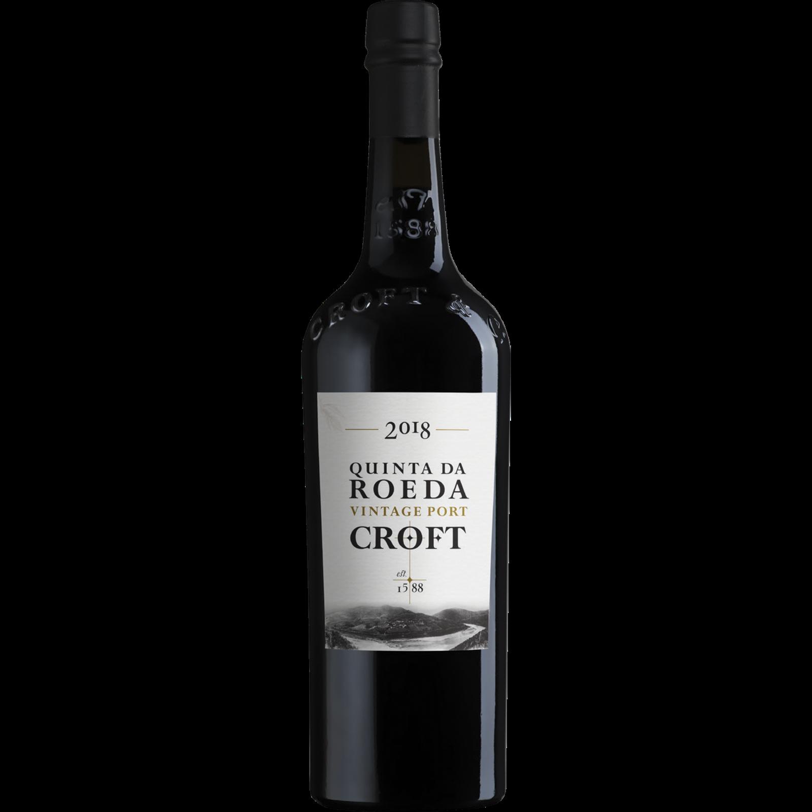 Croft Croft Quinta de Roeda Vintage Port 2018 (1/2 fles)