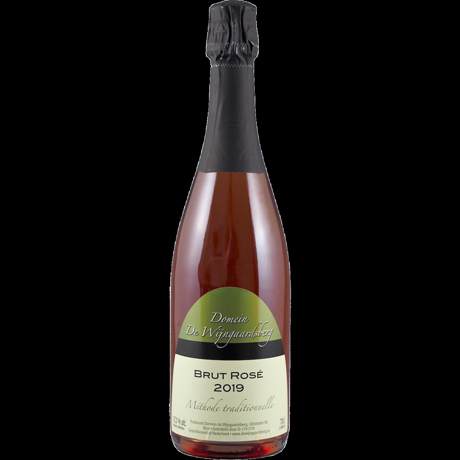 De Wijngaardsberg Brut Rosé 2019 De Wijngaardsberg