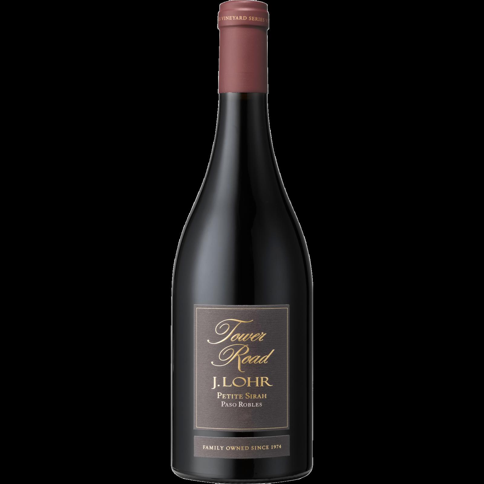 J Lohr Winery Tower Road Petite Sirah 2017