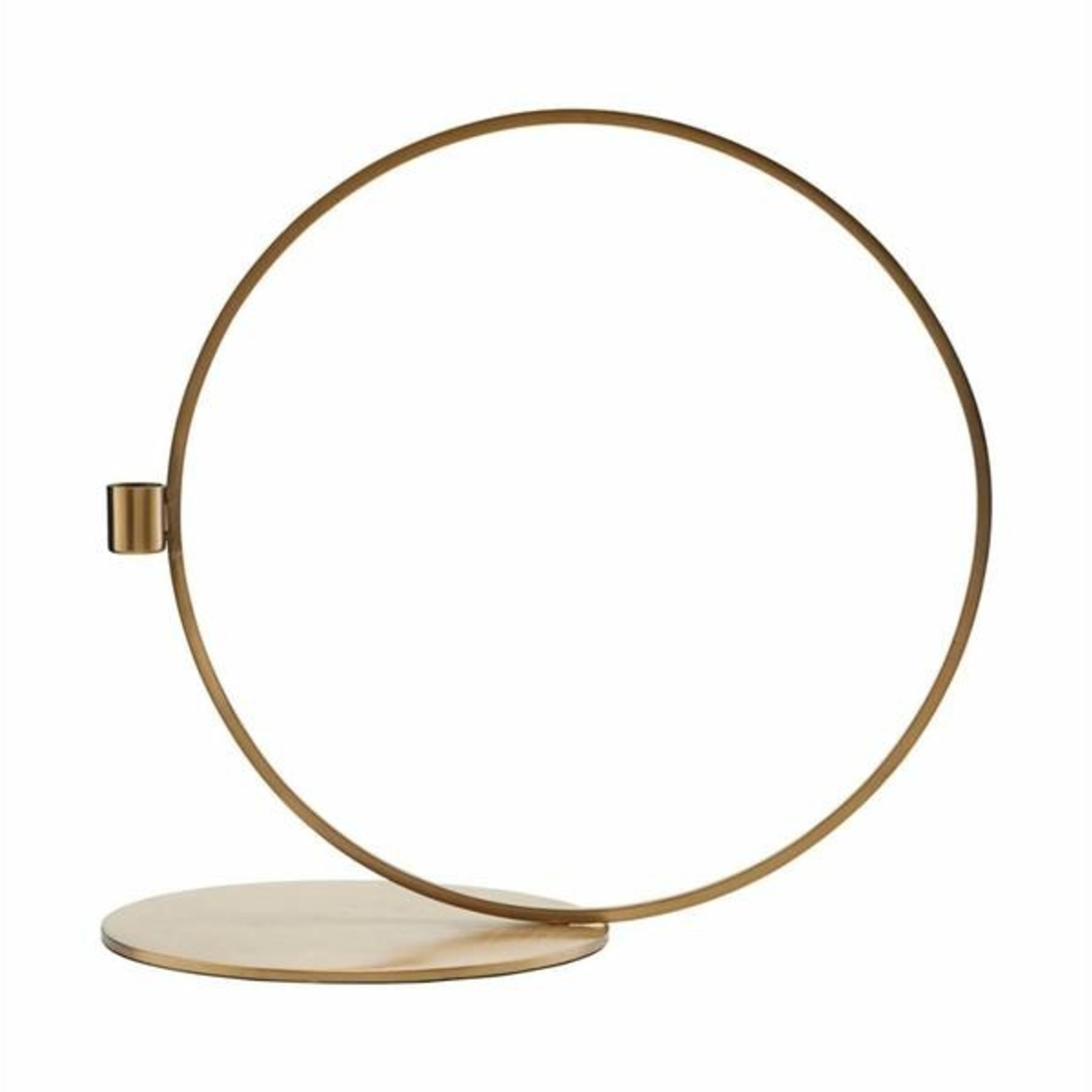 House Doctor Candle stand, Cirque, Brass finish