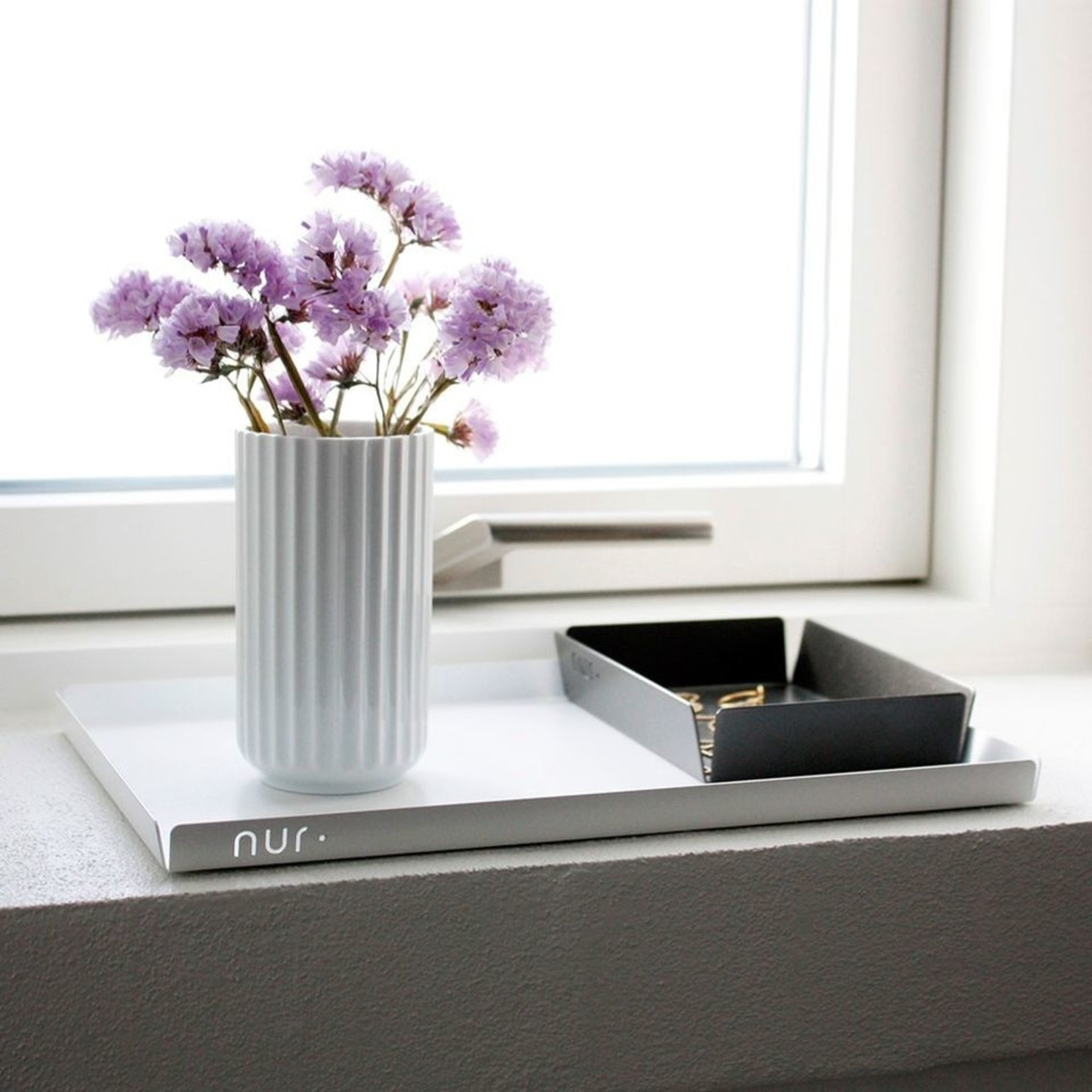 Nur Design Studio Nur tray L, (zwart)