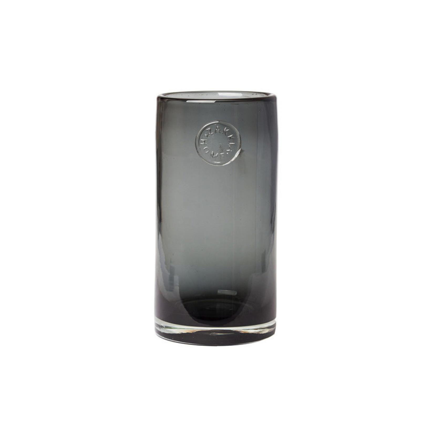 Zakkia Zakkia, vaas smoked glas