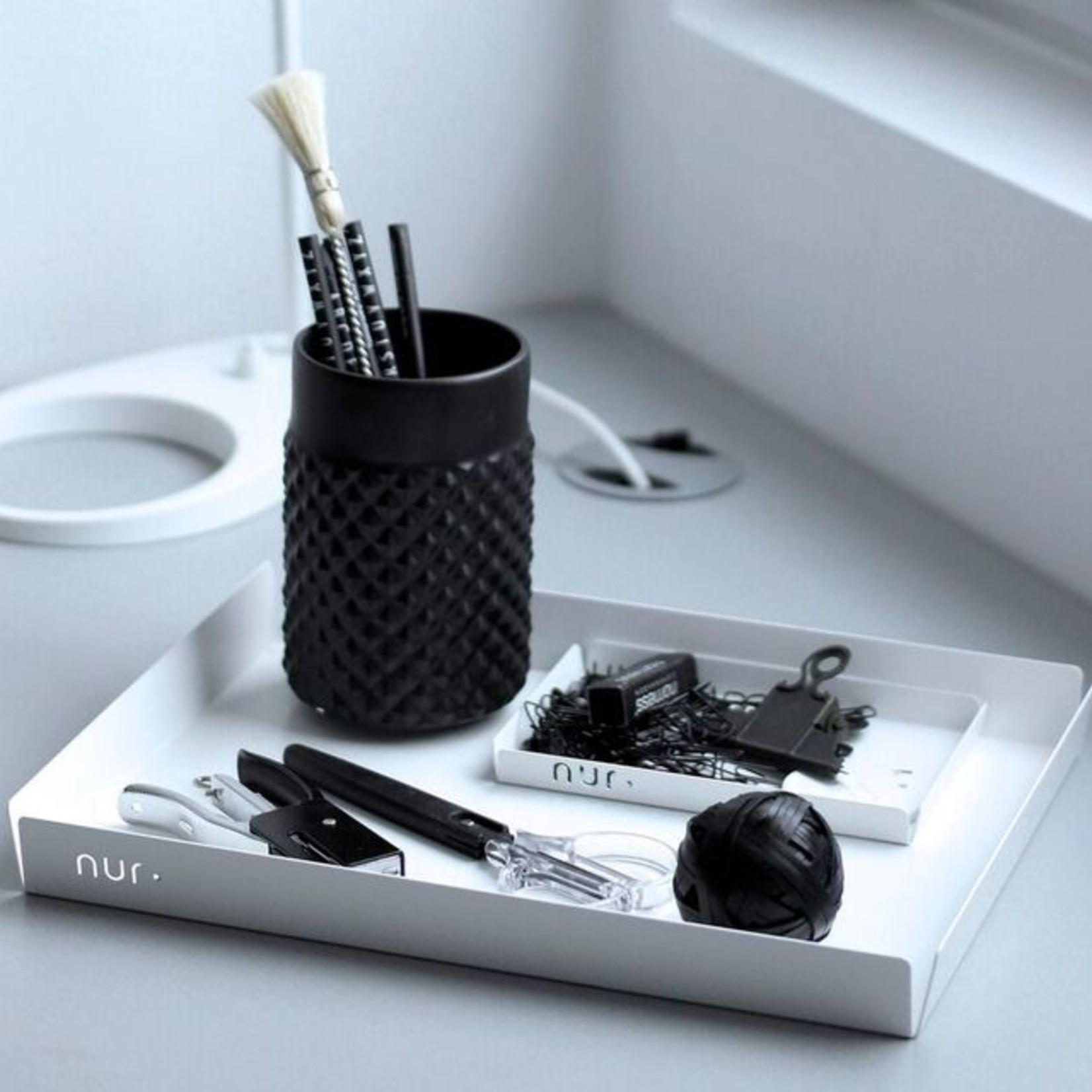 Nur Design Studio Nur Tray - S high (wit)