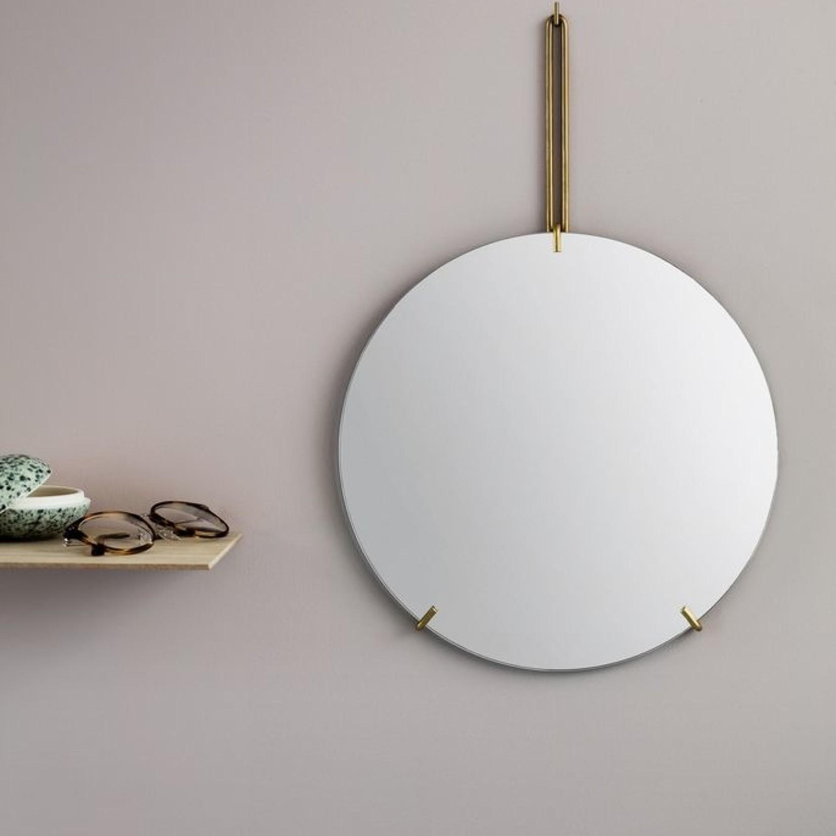 Moebe Moebe spiegel messing
