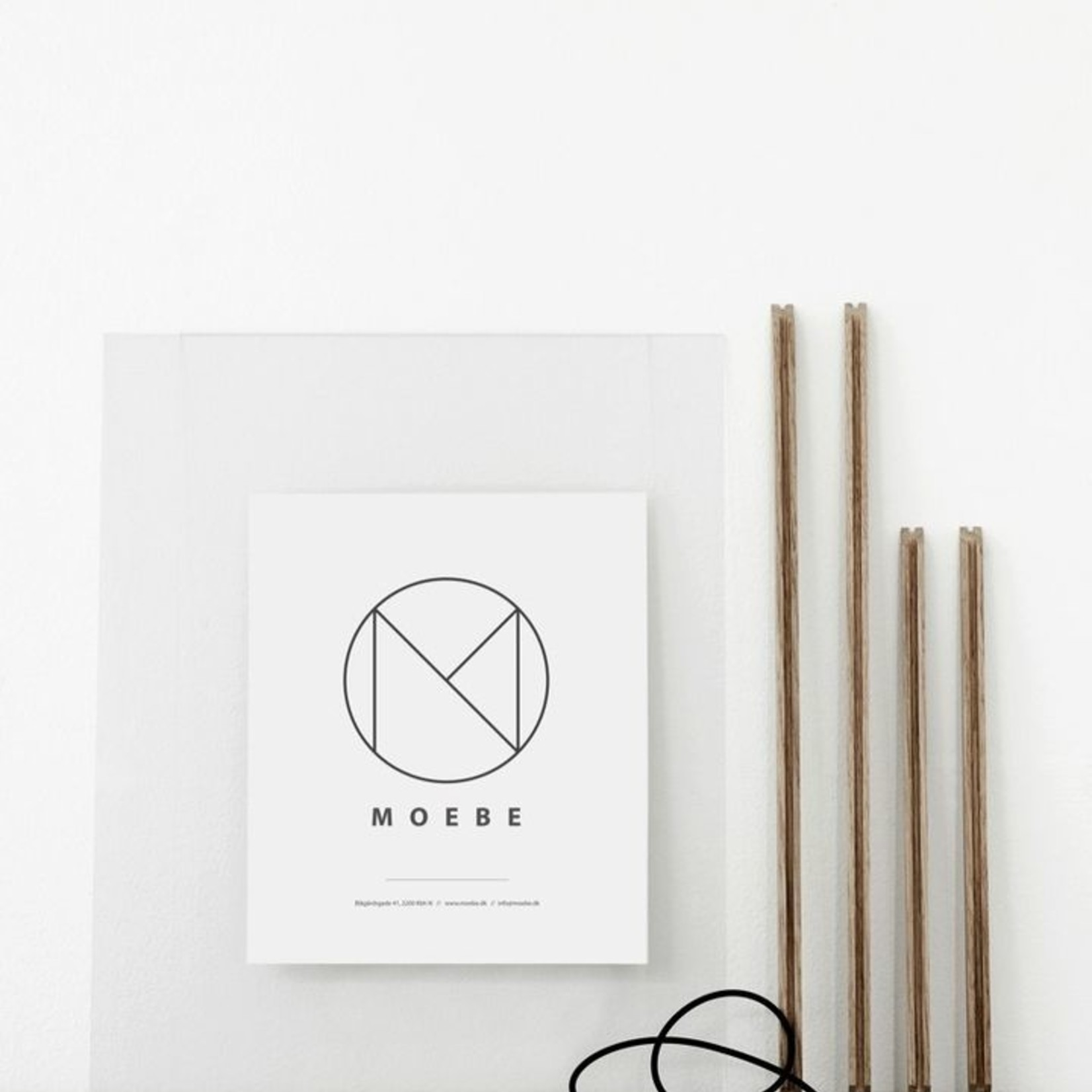 Moebe Moebe frame, oak, A3
