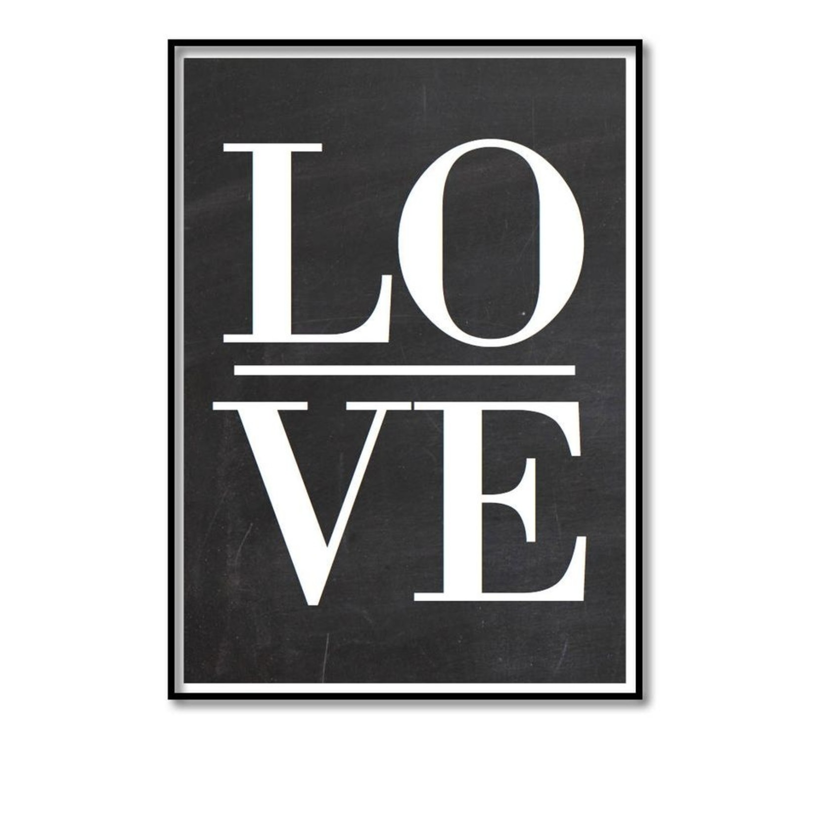 Pixelposter - Love (A4)