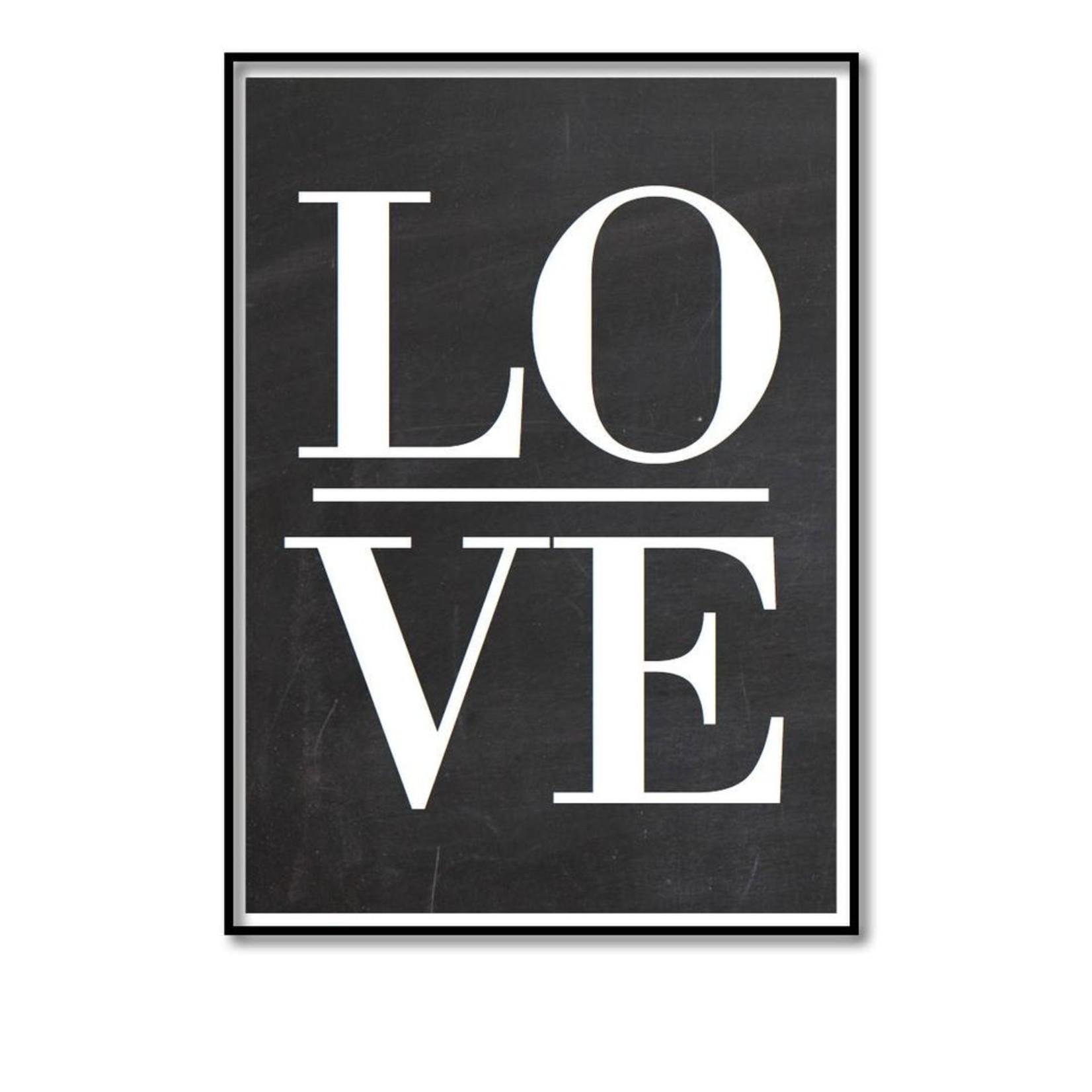 Pixelposter - Love (A5)