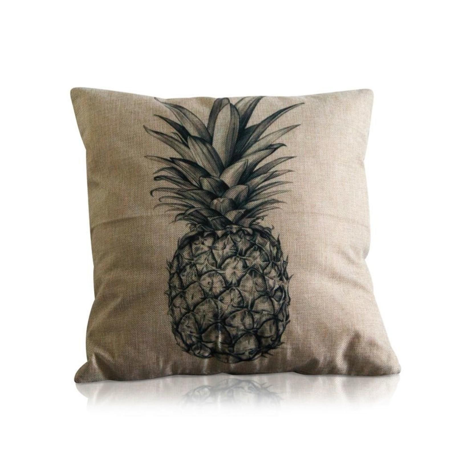 I Love My Interior I Love My Interior kussenhoes ananas