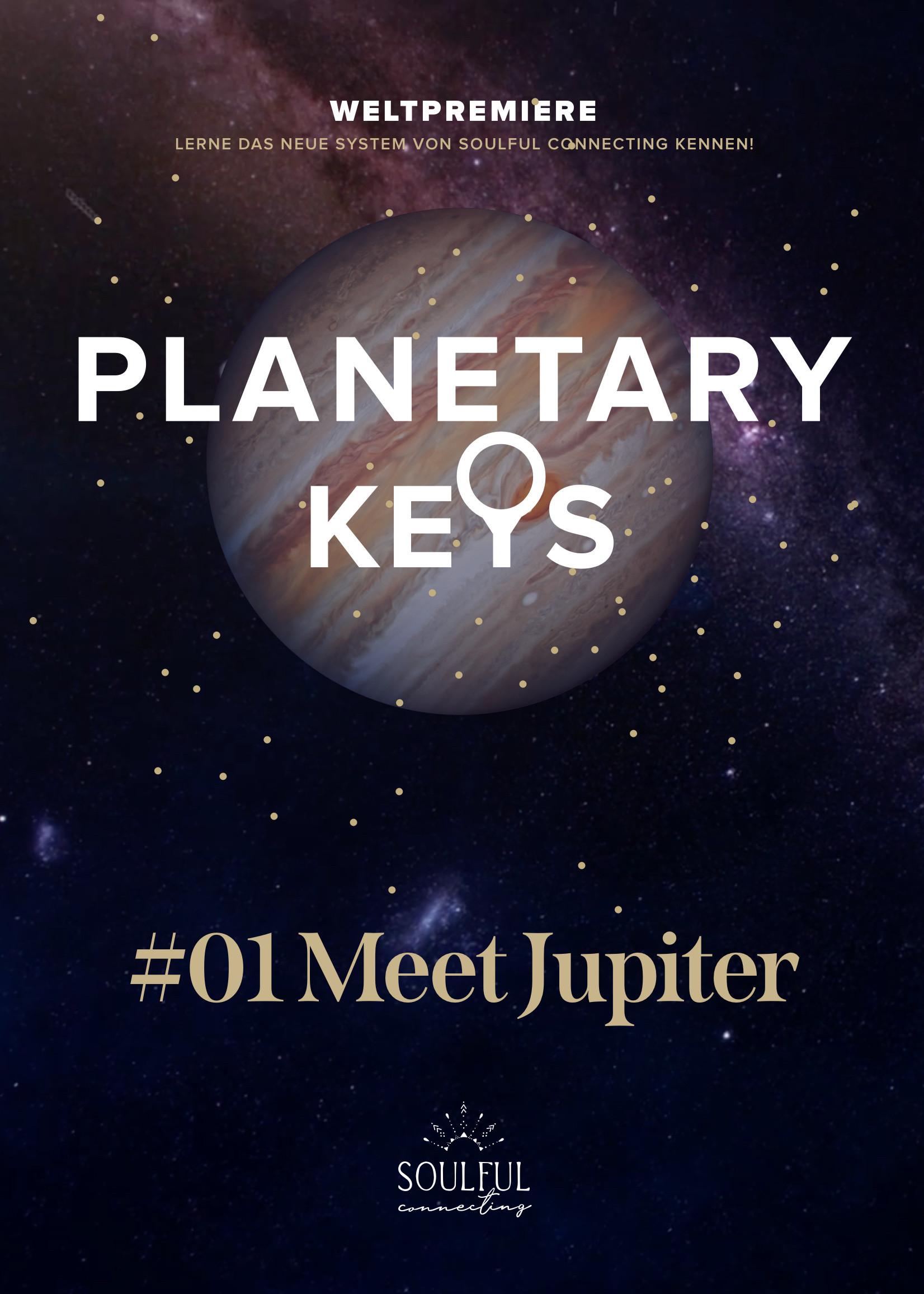 PLANETARY KEYS • Meet JUPITER