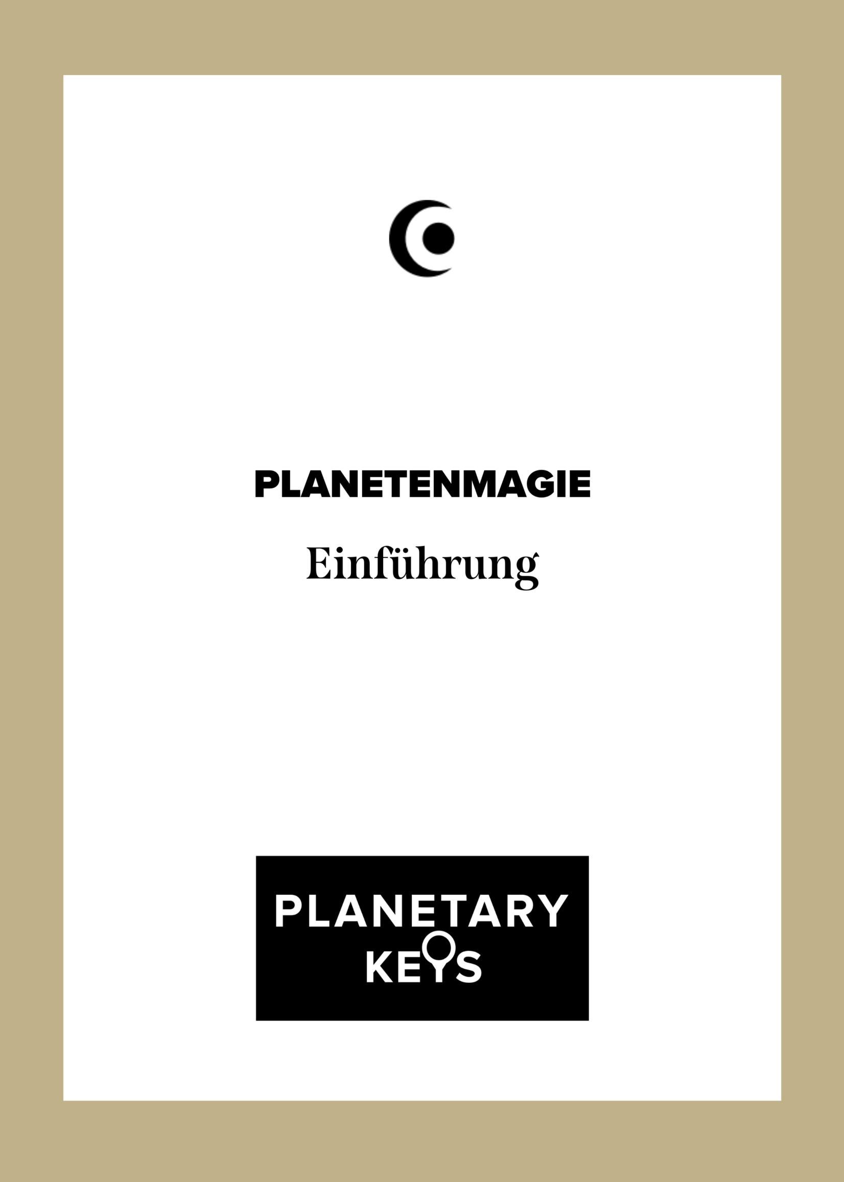 Einführung PLANETENMAGIE - Video & Downloads