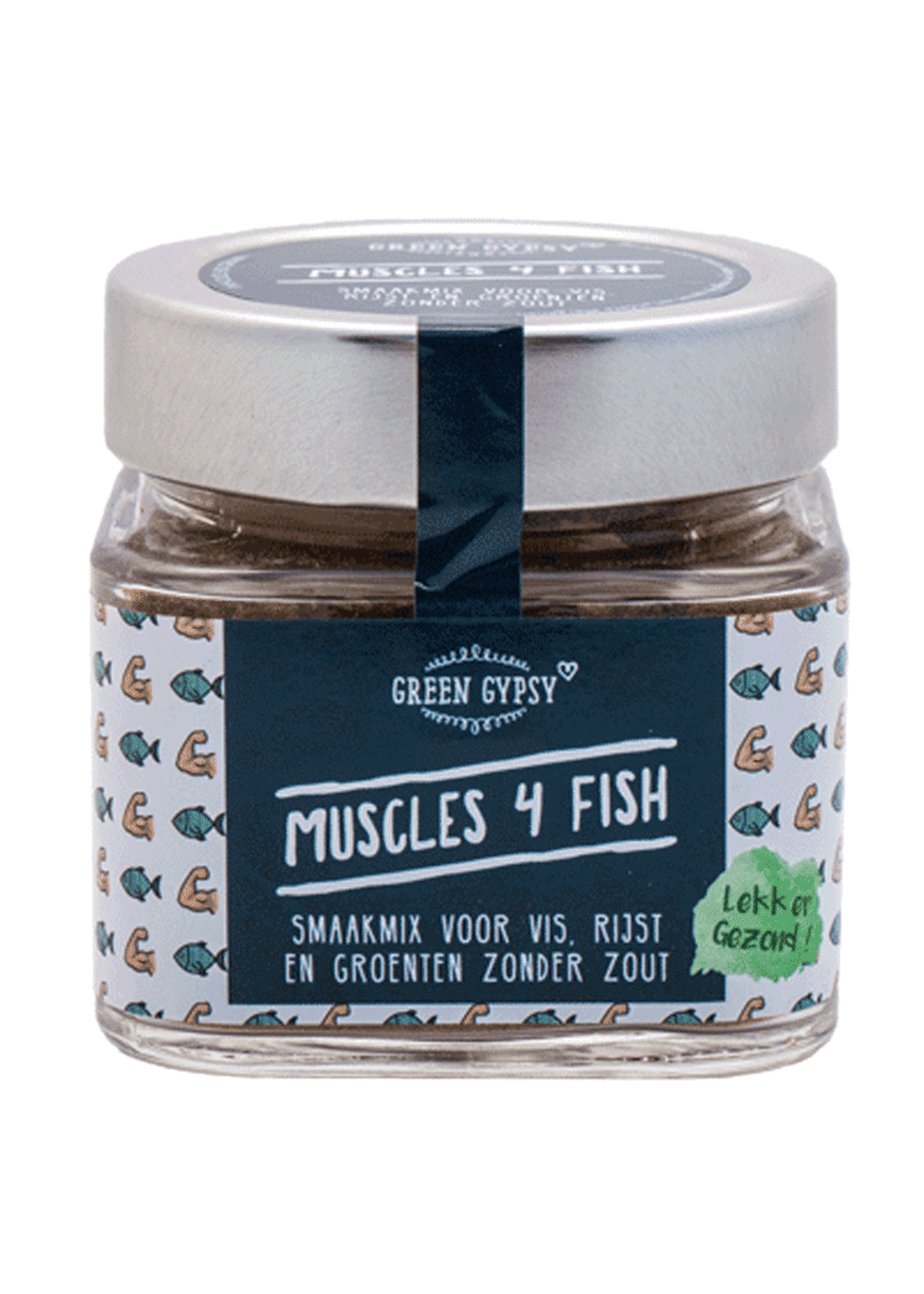 Green Gypsy Spices Kruidenmix Muscles 4 Fish Green Gypsy