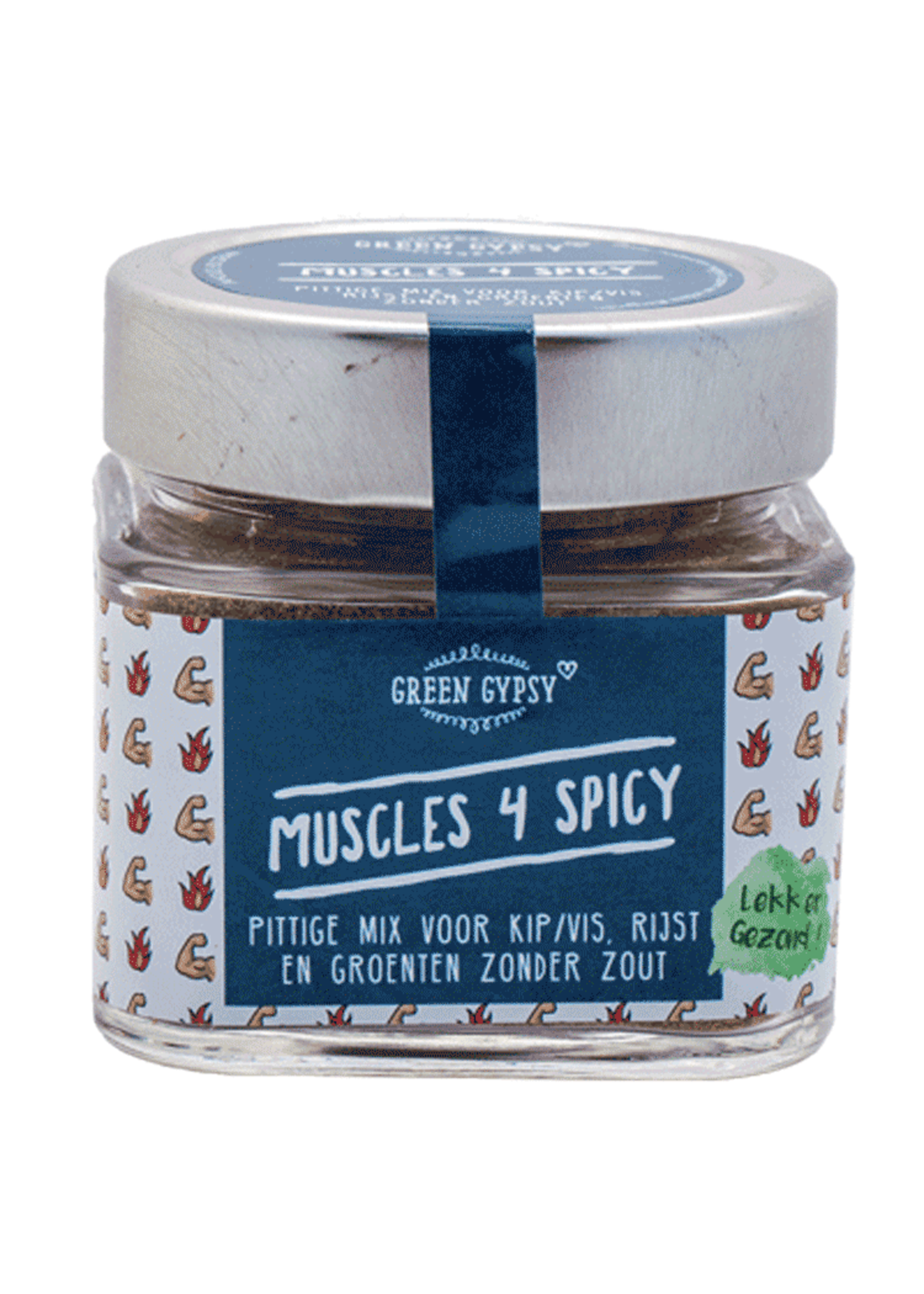 Green Gypsy Spices Kruidenmix Muscles 4 Spicy Green Gypsy