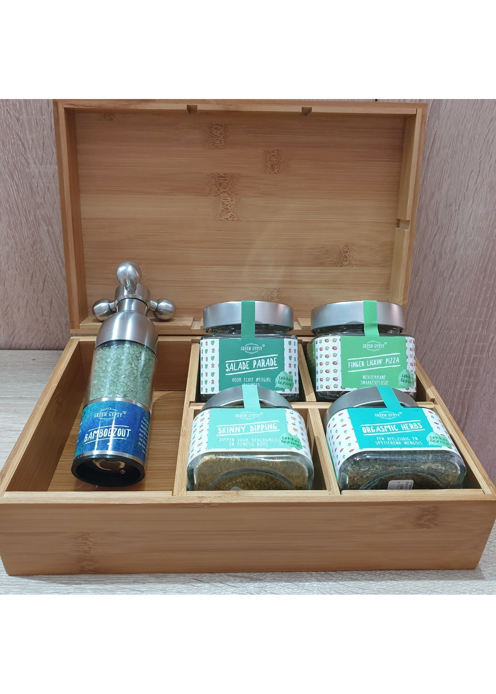 Green Gypsy Spices Kruidig geschenkbox Green Gypsy Spices