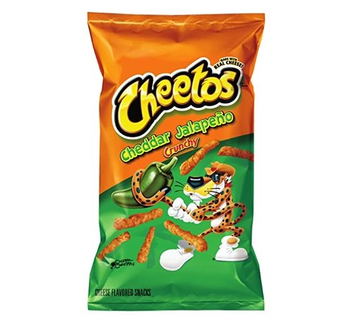 Cheetos Cheetos Cheddar en Jalapeño Chips