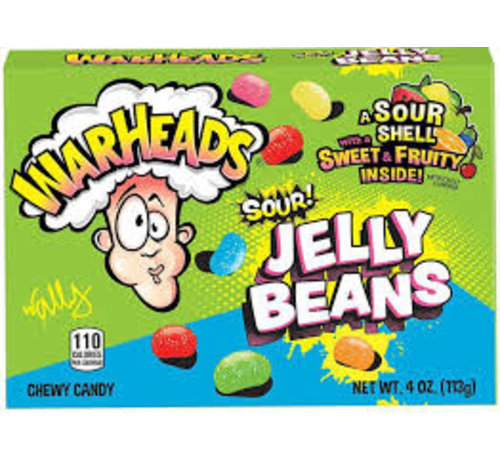 Warheads Warheads Sour Jelly Beans