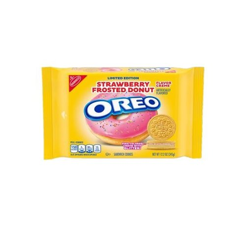 Oreo Oreo Limited Edition Strawberry Frosted Donut